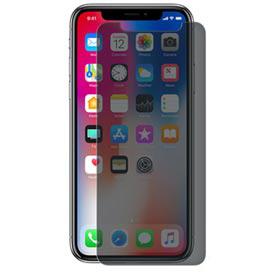 Película Privacidade Premium para iPhone X de Vidro Transparente - Geonav - GLIPXPR