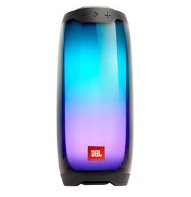 Caixa de Som Bluetooth JBL Pulse 4 com Potência de 20W Preta - JBLPULSE4BLK