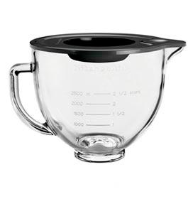 Bowl em Vidro Liso com Capacidade para 4,8 Litros para Stand Mixer - KitchenAid