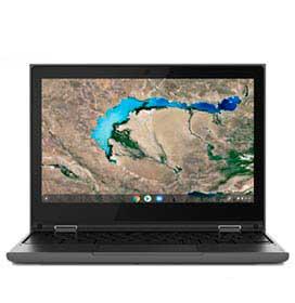 Notebook Lenovo, Intel Celeron N4020, 4GB, 32GB, Tela de 11,6, Preto, Chromebook 300e - 81MB0028BR