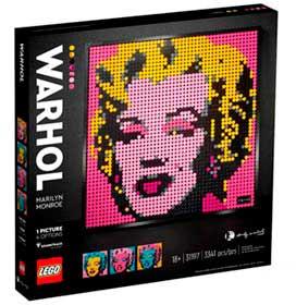 LEGO Art - Marilyn Monroe do Andy Warhol - 31197