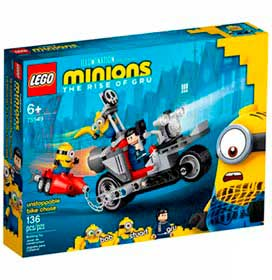 LEGO Minions - Perseguição Imparável de Moto - 75549