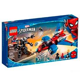 LEGO Super Heroes Marvel - Spiderjet vs. Robô Venom - 76150