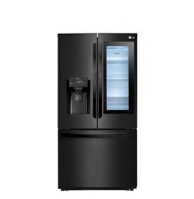 Refrigerador French Door Smart LG 03 Portas Frost Free com 525 Litros, Instaview Door-in-Door Preto Fosco - GR-X228NMSM