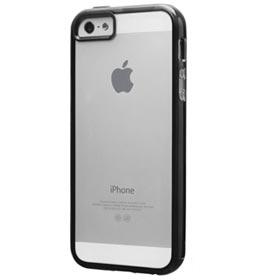 Capa para iPhone SE 2016 Preta com Película Plástica - Laut - LT-IPSEBKI