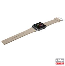 Pulseira para Apple Watch 38/40 mm Active em Borracha TPU Cinza Taupe - Apple - LT-AWSACGYI