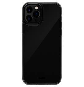 Capa Protetora para iPhone 12 e iPhone 12 Pro Crystal-X em Vidro Temperado Preta - Laut - LT-IP20MCXUBI