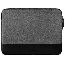 Capa MacBook Pro e Notebooks até 16 polegadas Inflight Sleeve Couro Sintético e Neoprene Preta Laut LT-MB16INBKI