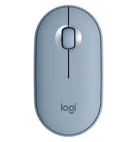 Mouse Óptico sem Fio Azul Pebble - Logitech - M350