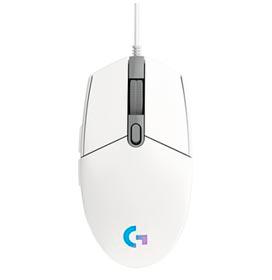 Mouse Óptico para Jogos LIGHTSYNC Branco - Logitech - G203
