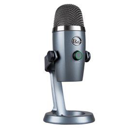 Microfone Blue Microphones Condensador USB Blue Yeti Nano Cinza - 988-000088