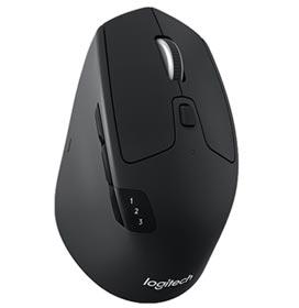 Mouse Wireless Logitech Preto - M720