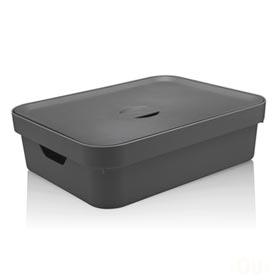 Caixa Organizadora com Tampa Cube G Baixa Chumbo - Ou