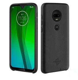 Capa Protetora Skin para Moto G7 Preta Motorola - MMBKC1063I