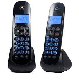 Telefone sem Fio Motorola com 01 Ramal, Viva-Voz, Identificador de Chamadas - MOTO750-MRD2