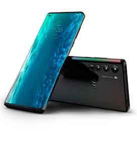 Smartphone Moto Edge Solar Black, com Tela de 6,7, 5G, 128 GB e Câmera Quádrupla de 64MP+16MP+8MP+TOF - XT2063-3