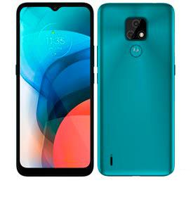 Smartphone Moto E7 Aquamarine, com Tela de 6,5, 4G, 32GB e Câmera de 48MP* + 2MP - XT2095-1