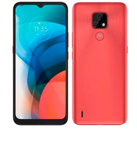 Smartphone Moto E7 Cobre, com Tela de 6,5, 4G, 64GB e Câmera Dupla de 48 MP + 2 MP - XT2095-1