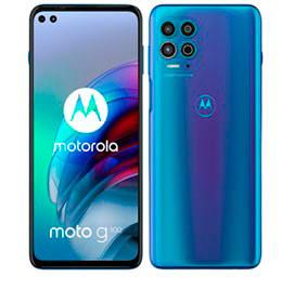 Smartphone Moto G100 256GB Luminous Ocean, com Tela 6,7, 5G, 256GB e Câmera Quádrupla de 64 MP+16 MP+2 MP+ TOF XT2125-4