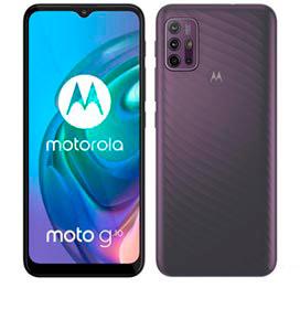 Smartphone Moto G10 Cinza Aurora, com Tela de 6,5, 4G, 64GB e Câmera Quádrupla de 48 MP+8 MP+2 MP+2 MP - XT2127-1