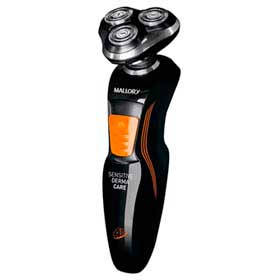 Barbeador Elétrico Mallory Sensitive Derma Care Uso Molhado - B90300100