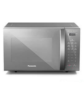 Micro-ondas de Mesa Panasonic com 27 Litros de Capacidade Prata - NN-ST55LMRUN