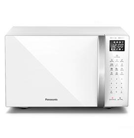 Micro-ondas de Mesa Panasonic com 34 Litros de Capacidade Branco - NN-ST65LWRUN