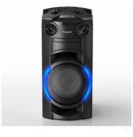 Torre de Som Panasonic com LED Azul, Bluetooth e 250W (RMS) de Potência - SC-TMAX10LBK