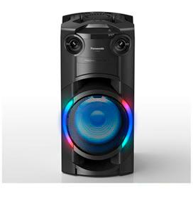 Torre de Som Panasonic com LED Multicolorido, Bluetooth e 250W (RMS) de Potência - SC-TMAX20LBK