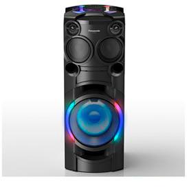 Torre de Som Panasonic com LED Multicolorido, Bluetooth e 1000W (RMS) de Potência - SC-TMAX40LBK
