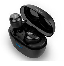 Fone de Ouvido Philips TWS Upbeat Intra-auricular Preto - SHB2505BK/10