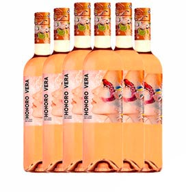 Kit com 06 Unidades de Vinho Tinto Finca La Sonada Martha Merlot 2020 com 750 ml