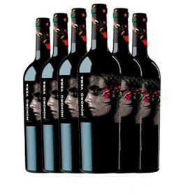 Kit com 06 Unidades de Vinho Tinto Honoro Vera Garnacha 2019 com 750ml