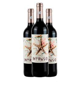 KIt com 03 Undidades de Vinho Tinto Intruso Monastrel 2019 com 750 ml - Bodegas Juan Gil