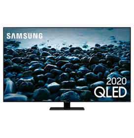Samsung Smart TV QLED 4K Q80T 55, Pontos Quânticos, Modo Game, Som em Movimento, Alexa built in, Borda Infinita