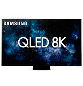 Smart TV 8K Samsung QLED 75 com Modo Game, Modo Ambiente e Wi-Fi - QN75Q950TSGXZD
