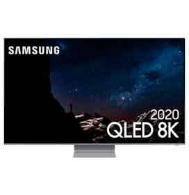 Samsung Smart TV QLED 8K Q800T 82, Processador com IA, Borda Infinita, Alexa, Som em Movimento, Modo Ambiente 3.0
