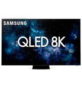 Smart TV 8K Samsung QLED 85 com Modo Game, Modo Ambiente e Wi-Fi - QN85Q950TSGXZD