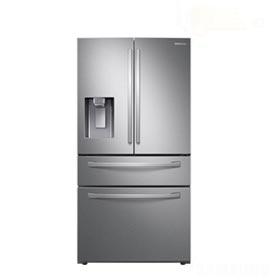 Refrigerador French Door Samsung de 04 Portas Frost Free com 501 Litros Twin Cooling Inox - RF22R7351SR/AZ