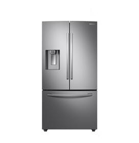 Refrigerador French Door Samsung de 03 Portas Frost Free 536 Litros Tecnologia Twin Cooling Plus Inox - RF23R6201SR/AZ