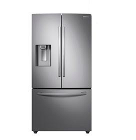 Refrigerador French Door Samsung de 03 Portas Frost Free com 530 Litros e Twin Cooling Plus Inox - RF23R6301SR