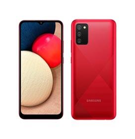 Samsung Galaxy A02s Vermelho, com Tela Infinita de 6,5, 4G, 32GB e Câmera Tripla de 13MP + 2MP + 2MP - SM-A025MZRYZTO