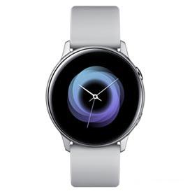 Galaxy Watch Active Samsung Prata com 39,5 mm, Pulseira de Silicone, Bluetooth, NFC e 4GB - SM-R500NZDPZTO