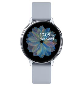 Galaxy Watch Active2 BT 44mm (Alumínio) - Prata (Pulseira Silicone)