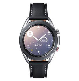 Galaxy Watch3 41mm Samsung Prata com 1,4, Pulseira de Couro, Bluetooth, LTE e 8GB - SM-R855FZSPZTO