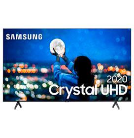Samsung Smart TV Crystal UHD TU7000 4K 43, Processador Crystal 4K, Borda Infinita, Controle Único, Bluetooth