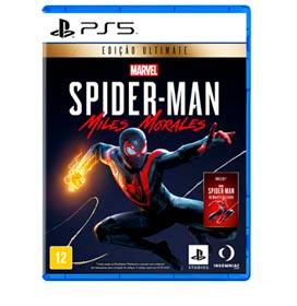 Jogo Marvel s Spider-Man: Miles Morales Edição Ultimate para PS5