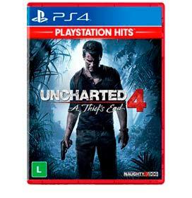 Jogo Uncharted 4 - A Thiefs End Hits para PS4