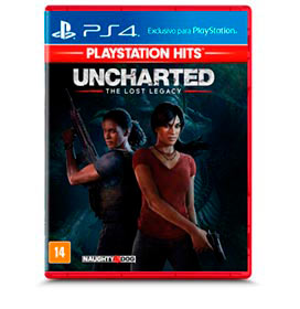 Jogo Uncharted The Lost Legacy Hits para PS4