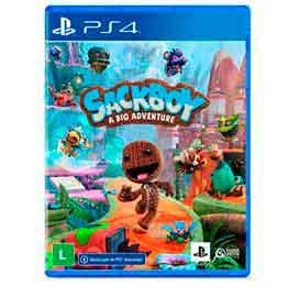Jogo Sackboy: Uma Grande Aventura para PS4